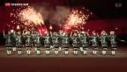 Video «Basler Tambouren im Schloss von Edinburgh» abspielen