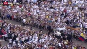 Video «Papst Franziskus besucht Kuba» abspielen