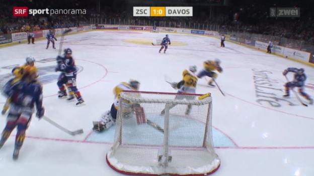 Video «Eishockey: ZSC Lions - Davos» abspielen