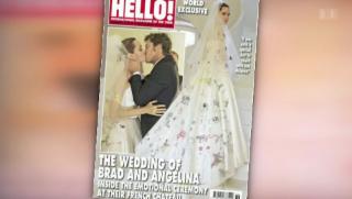 Video «Brangelina: Die ersten Hochzeitsbilder » abspielen