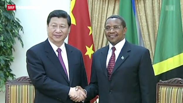 Video «China und Tansania im Gleichschritt» abspielen