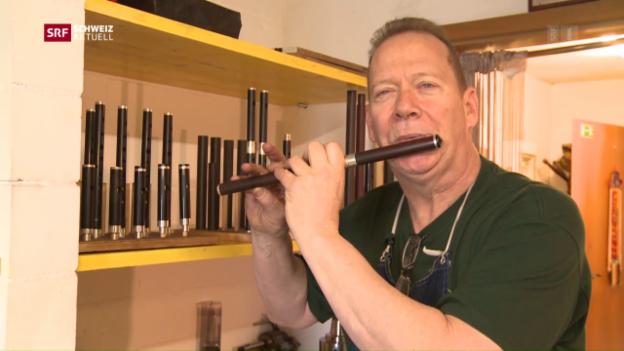 Video «Aargauer Flöten für Trump-Amtseinführung» abspielen
