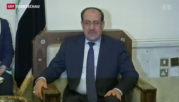 Video «Neue Regierung im Irak in greifbarer Nähe» abspielen
