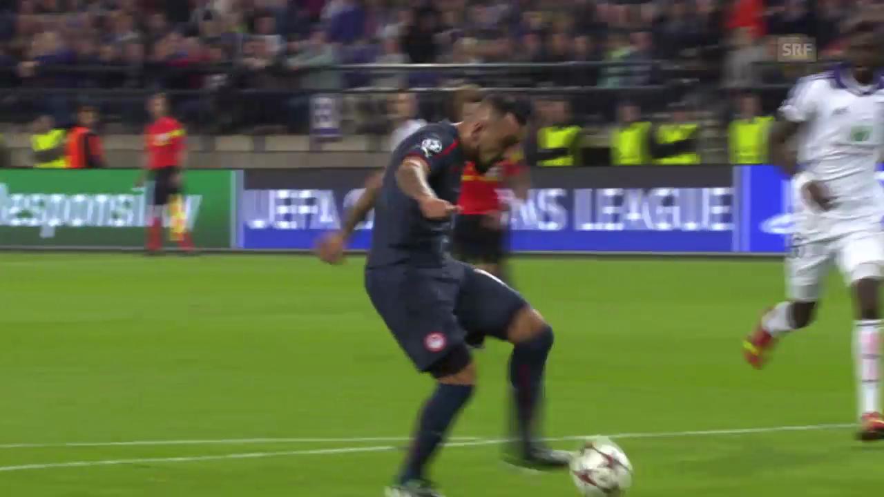 Fussball: Anderlecht - Olympiakos Piräus