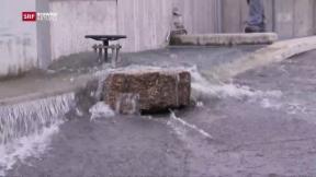 Video «Forschung am Hochwasserschutz» abspielen