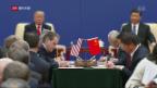 Video «Der Handelskrieg zwischen China und den USA» abspielen