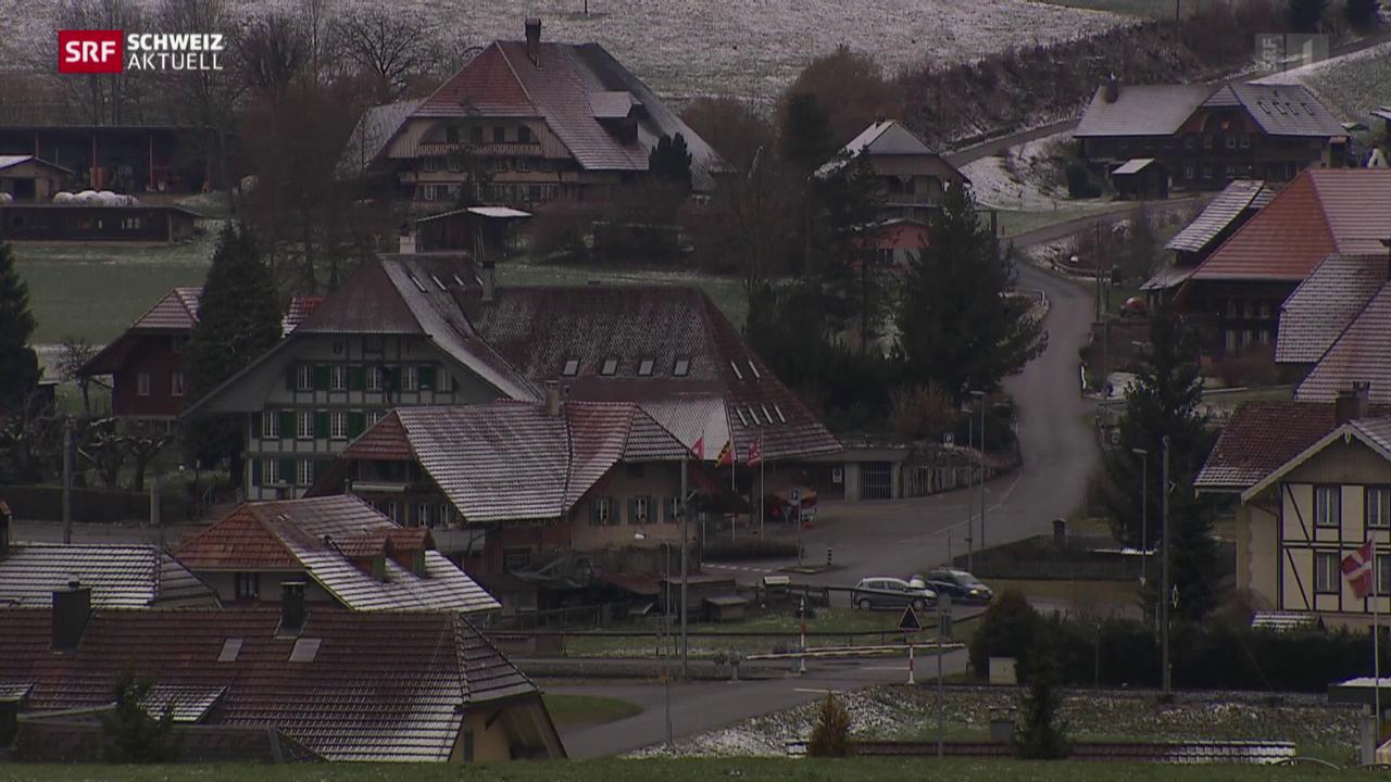 Muss der Kanton Bern das Asylzentrum in Schafhausen schliessen?
