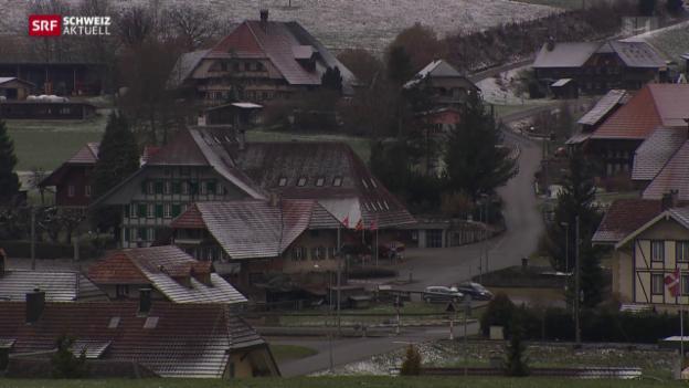Video «Muss der Kanton Bern das Asylzentrum in Schafhausen schliessen?» abspielen