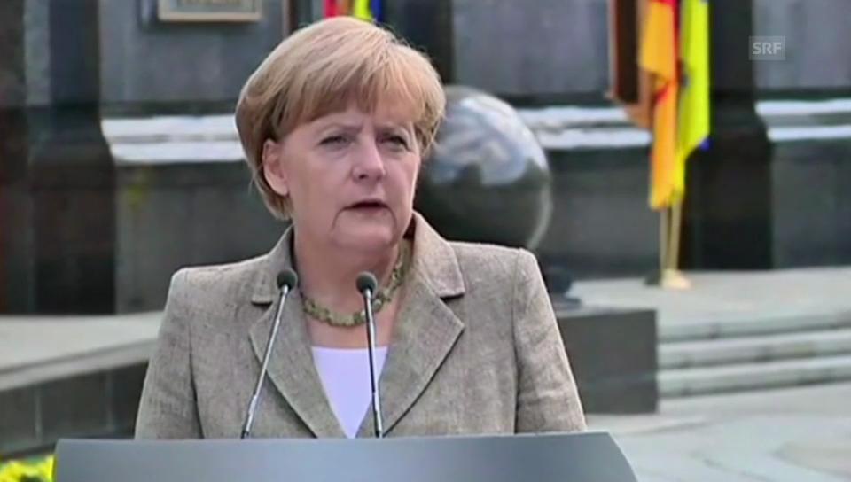 Merkel verspricht Hilfe in Millionenhöhe