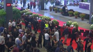 Video «Trauerfeier in Genua » abspielen