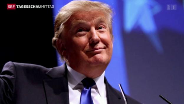 Video «Republikaner gehen auf Distanz zu Trump» abspielen
