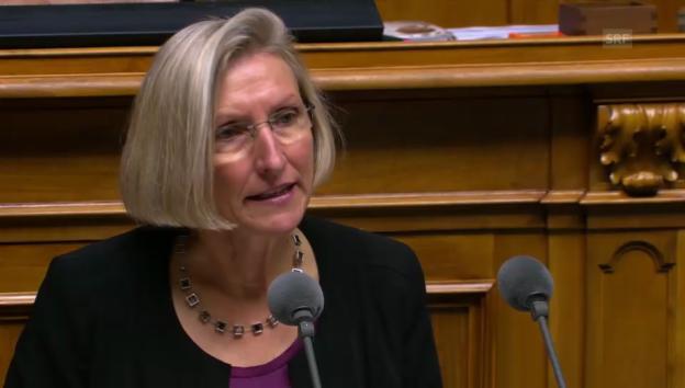 Video «Nationalrätin Birrer-Heimo (SP/LU) wies vergeblich auf den volkswirtschaftlichen Schaden hin» abspielen