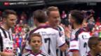 Video «Fussball: Cup, Basel - YF Juventus» abspielen
