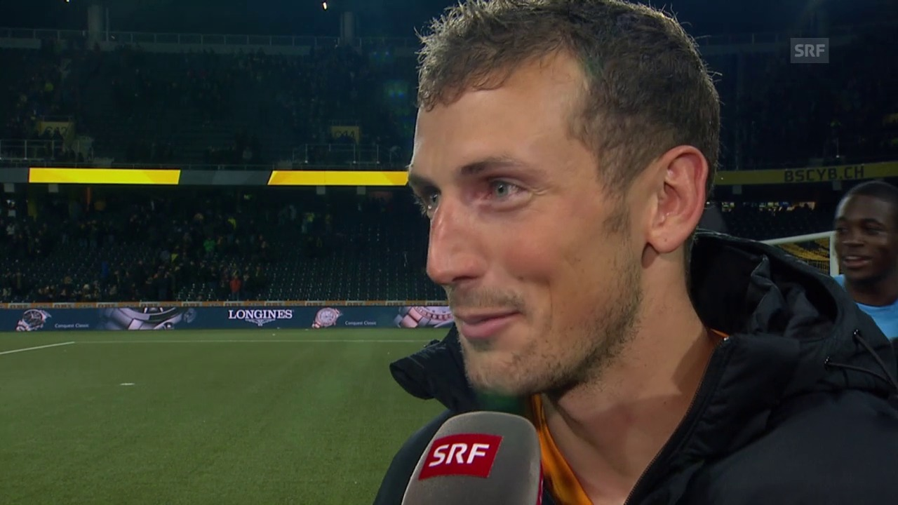 Fussball: Super League, YB - Basel, Interview Gerndt