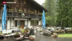 Video «Regen vermiest Berghütten das Sommergeschäft» abspielen