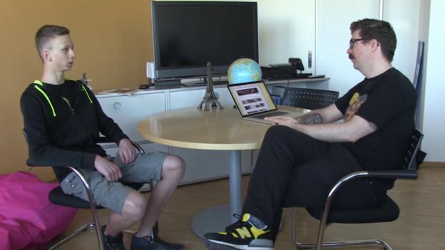 Video ««Mint»: Joel Dickey, Gewinner der Challenge 3, bei SRF Digital» abspielen