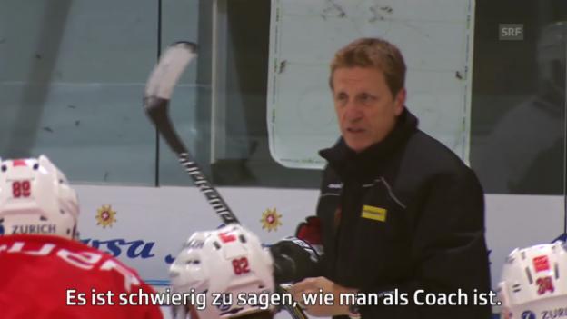 Video «Eishockey: Nati-Coach Glen Hanlon über seine Funktion als Nati-Coach» abspielen