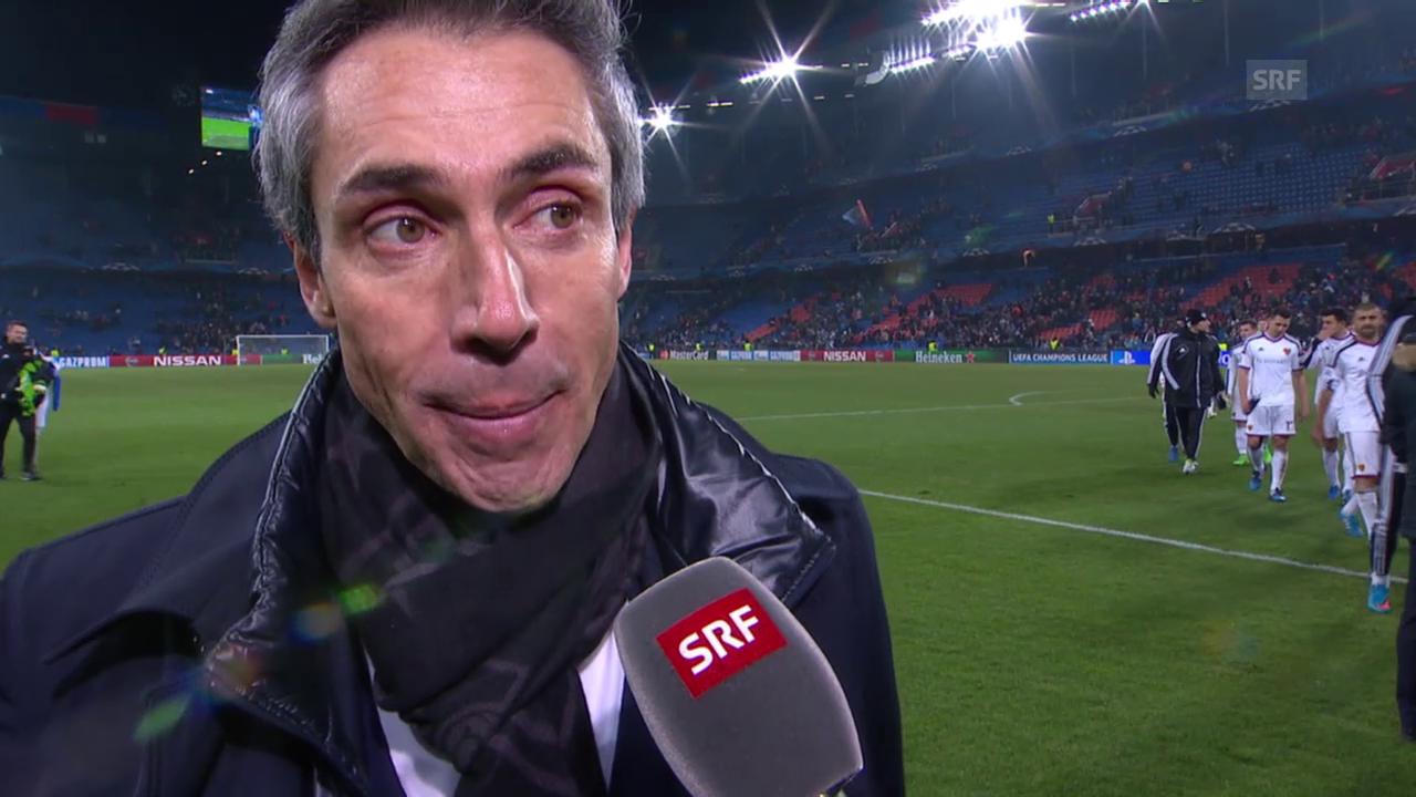 Fussball: Champions-League-Achtelfinal, Basel-Porto, Interview Paolo Sousa