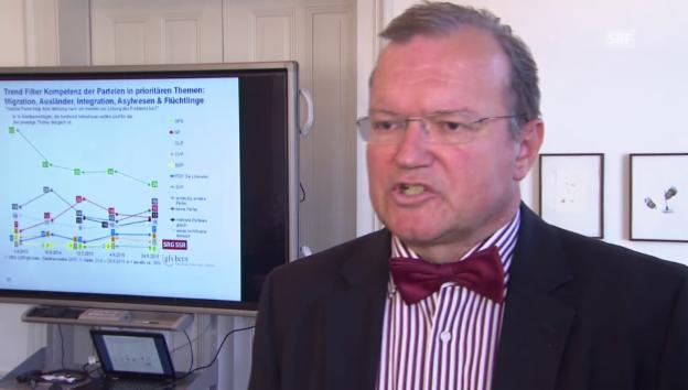 Video «Claude Longchamp über das beste Wahlkampf-Rezept» abspielen