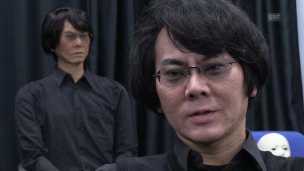 Video «Hiroshi Ishiguro über seinen Roboter-Klon» abspielen