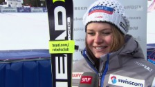 Video «Ski Alpin: Interview Corinne Suter» abspielen
