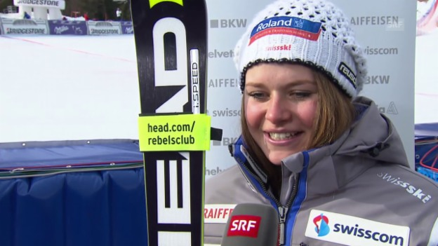 Video «Ski Alpin: Interview Corinne Suter» abspielen