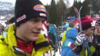 Video «Ski Alpin: Abfahrt Männer in Alta Badia, Interview mit Tumler («sportlive», 22.12.2013)» abspielen