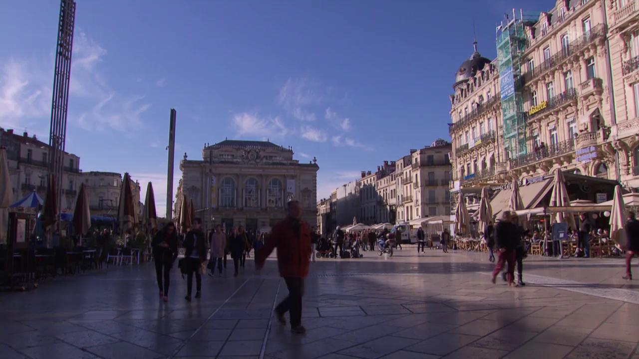 Fussball: Euro, Impressionen aus Montpellier