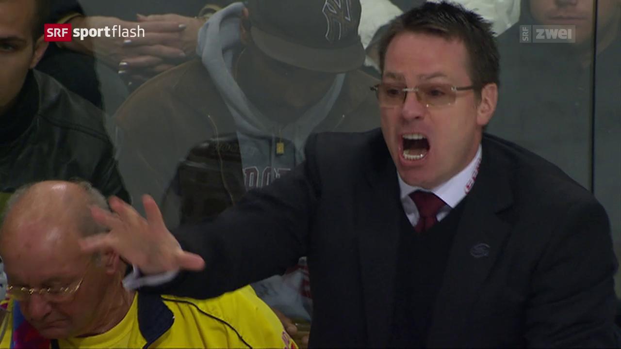 McSorley wird erneut Genf-Trainer