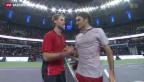 Video «Federer und Wawrinka im Achtelfinale von Shanghai» abspielen