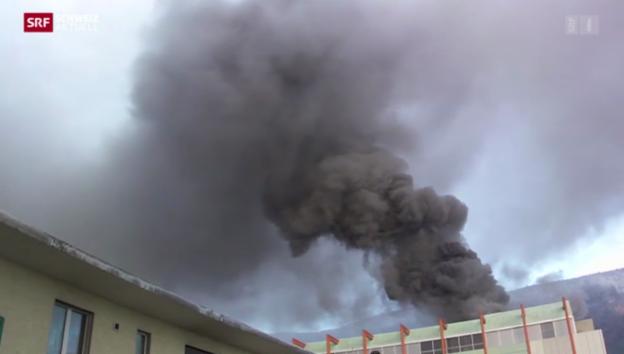 Video «Brand bei Swatch-Tochter in Grenchen: fünf Mio Franken Schaden» abspielen