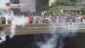 Video «Venezuela kehrt OAS den Rücken» abspielen