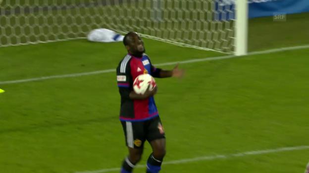 Video «Doumbias Tor zum 2:2 – ein strittiger Entscheid» abspielen