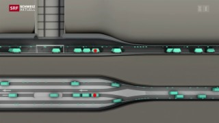 Video «Gütertransport soll unter die Erde» abspielen