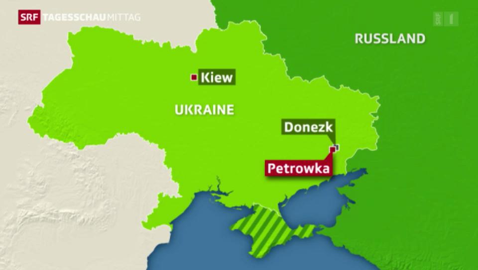 Lage in Ukraine bleibt angespannt