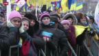 Video «Grosskundgebung in der Ukraine» abspielen