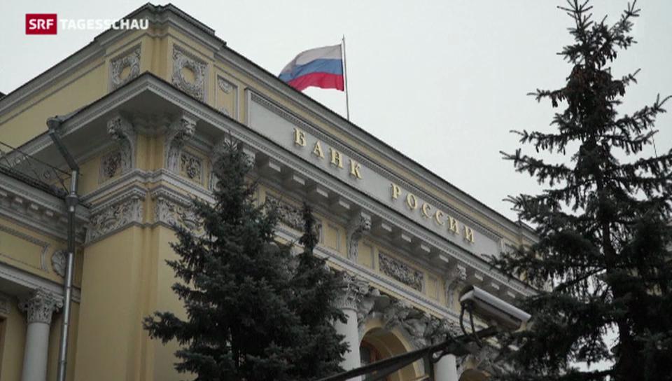 Der Rubel rollt in den Keller