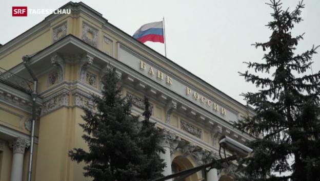 Video «Der Rubel rollt in den Keller» abspielen