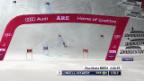 Video «Ski Alpin: Riesenslalom Frauen in Are, 2. Lauf Lindell-Vikarby («sportlive», 7.3.2014)» abspielen