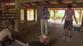 Video «Historische Ziegelei neu auf dem Ballenberg » abspielen