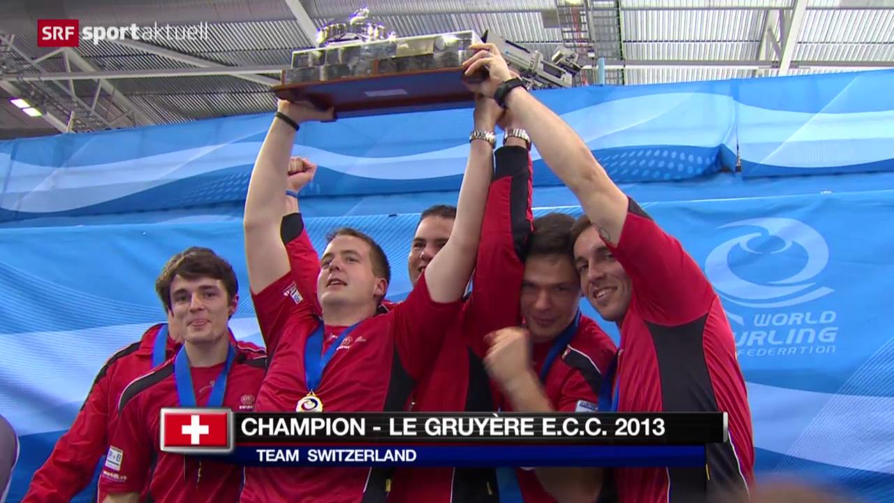 Curling: EM in Stavanger, Final Männer
