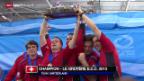Video «Curling: EM in Stavanger, Final Männer» abspielen