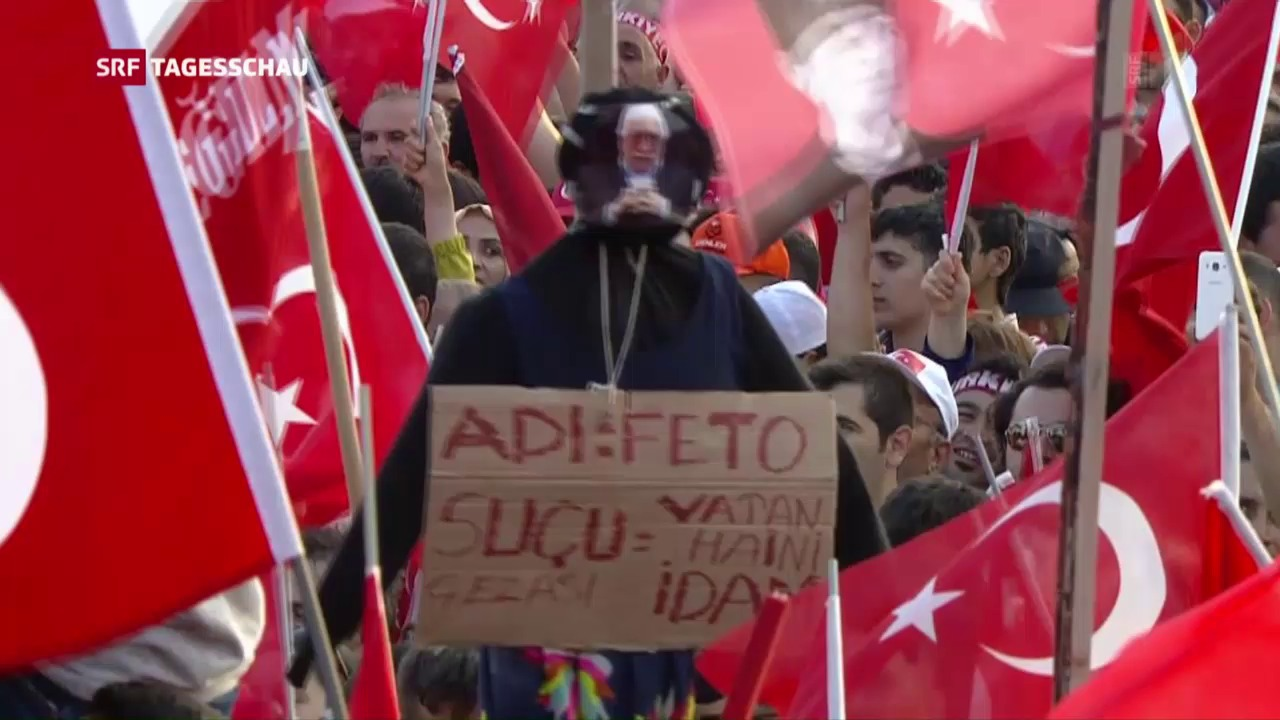 Grossdemonstration in Istanbul