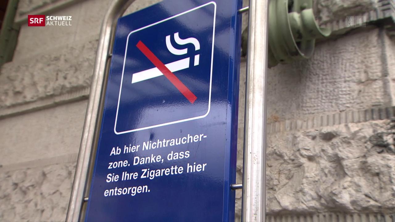 SBB testet rauchfreie Bahnhöfe