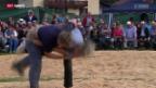 Video «Schwingen: Eidgenössisches Frauen-Schwingfest in Unteriberg» abspielen