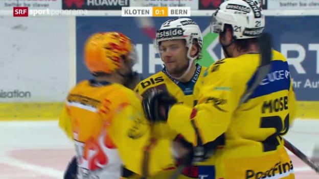 Video «Eishockey: Kloten - Bern» abspielen