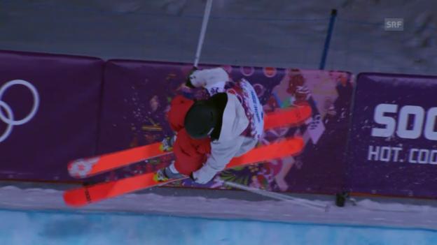 Video «Ski Freestyle: Zusammenfassung Halfpipe Frauen (20.02.2014)» abspielen