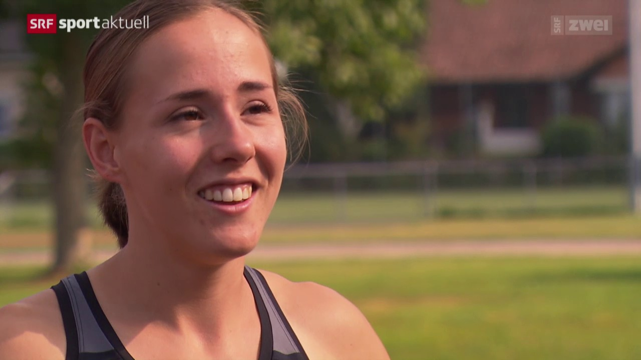 Leichtathletik: WM-Countdown für Selina Büchel