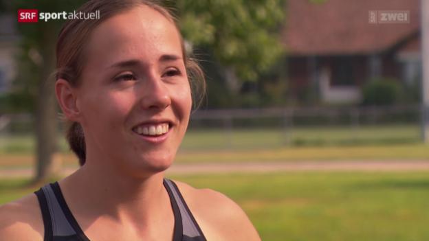 Video «Leichtathletik: WM-Countdown für Selina Büchel» abspielen
