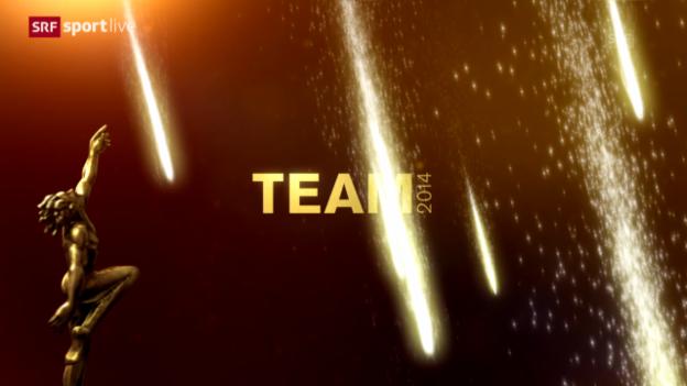 Video «Sports Awards: Wer wird Team des Jahres?» abspielen
